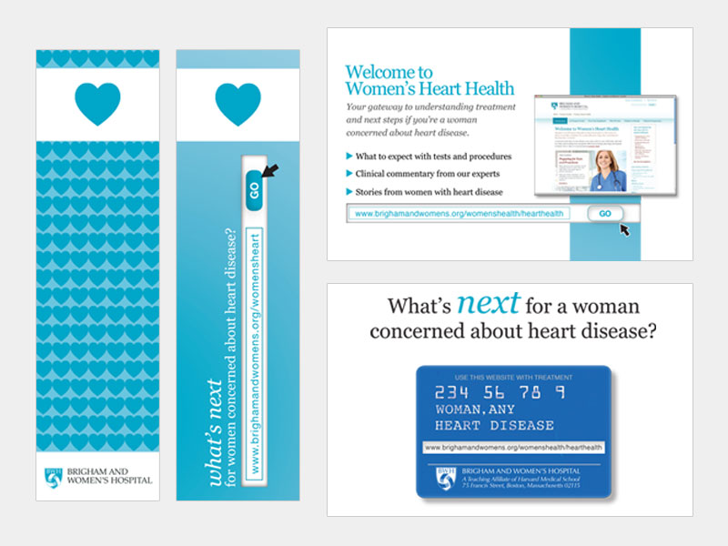 BWH promo card and bookmark