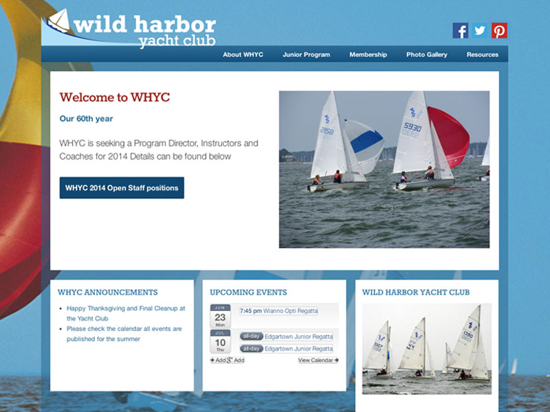 WHYC website